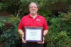 Ben Garner Certified as Extron AV Associate