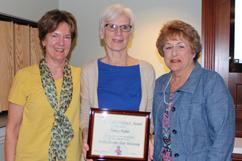 Nancy Huber Receives Pride of the Wolfpack Award