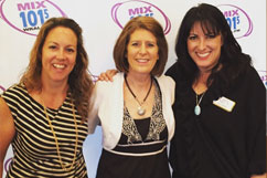 Sandy at Mix 101.5