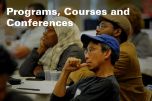 Programs Courses and Conferences at the McKimmon Center