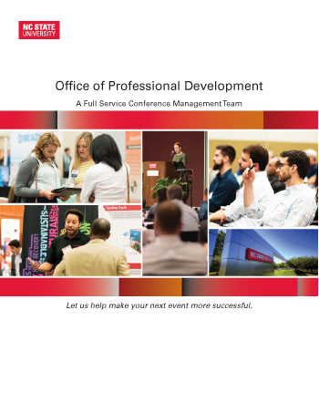 Events Management Brochure